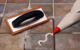 Как затирать плитку на полу: инструменты и тонкости работы