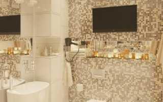 Дизайн: элементы ар-деко в интерьере ванной комнаты