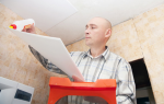 Клей для потолочной плитки: на какой лучше клеить?