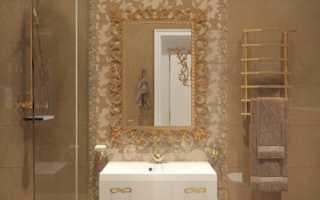 Дизайн: изысканный интерьер ванной комнаты