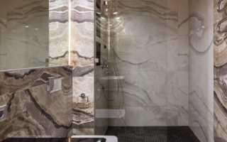 Дизайн ванной комнаты в кофейных тонах