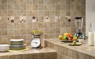 Кухонная столешница из плитки своими руками: как сделать