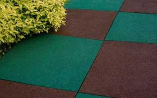 Укладка резиновой плитки своими руками на грунт и бетонное основание