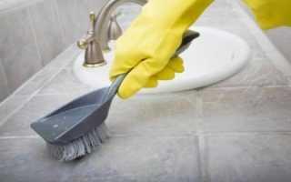 Как очистить плитку в ванной и чем