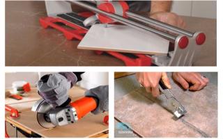 Инструмент для резки плитки: какой же использовать?