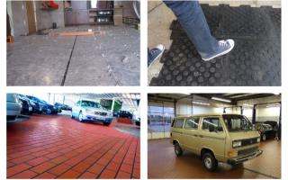 Керамогранит и плитка для гаража на пол: особенности выбора