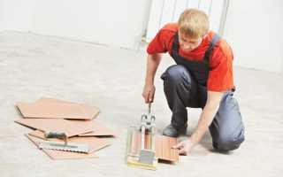 Как резать плитку без плиткореза в домашних условиях?