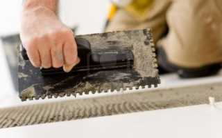 Толщина плиточного клея при укладке плитки: расчет с умом