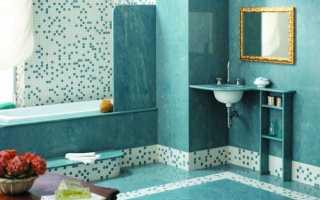 Мозаика в ванной: укладка своими руками