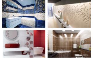 Плитка для ванной комнаты: основные критерии выбора
