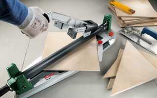 Как пользоваться плиткорезом и правильно с ним работать