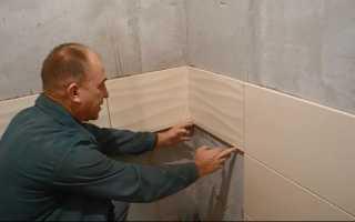 Как приклеить плитку на стену в ванной: опыт отделочника