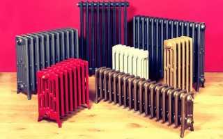 Радиаторы отопления: виды и характеристики