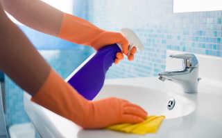 Как очистить плитку в ванной: уход за кафелем
