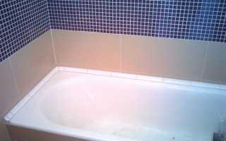 Заделка швов между плиткой и ванной: чем и как лучше?