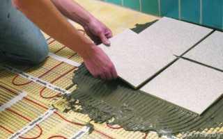 Как положить напольную плитку правильно?