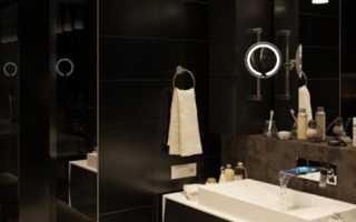 Дизайн: модерн в интерьере ванной комнаты