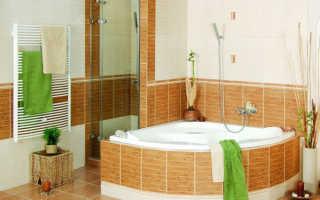Раскладка плитки в ванной: варианты и способы