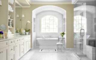 Дизайн ванной комнаты с большим окном — идеи для вас