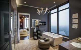 Дизайн ванной комнаты 12 кв. м с окном — варианты и идеи