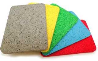 Укладка резиновой плитки на основание: правильная технология