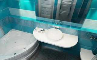 Совмещенный санузел с ванной — дизайн-идеи и фото