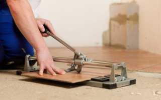 Чем резать керамическую плитку — подробные инструкции