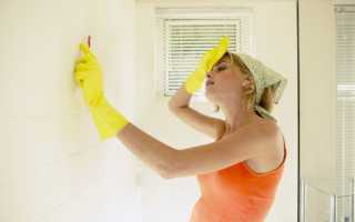 Чем оттереть затирку с плитки и отмыть грунтовку: методы