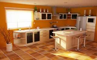 Какую плитку выбрать на пол в кухне и как