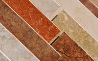 Вес керамической плитки: сколько весит 1 м2
