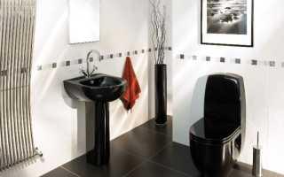 Как положить плитку в туалете: укладка своими руками