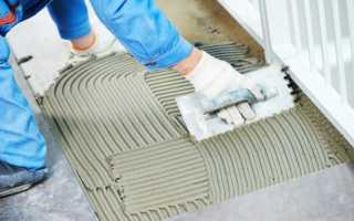 Плиточный клей: технические характеристики и состав