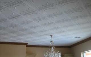 Как клеить потолочную плитку по диагонали (ромбом)
