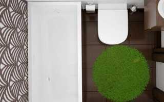 Дизайн: стиль модерн для ванной комнаты