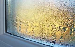 Почему на окнах конденсат и как его устранить