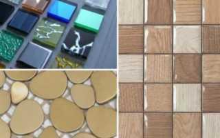 Клеим мозаику на сетке: правила укладки мозаичной плитки