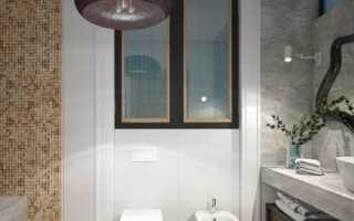 Дизайн: сочетание мозайки и плитки под мрамор