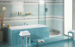 Как красиво выложить плитку в ванной: идеи и варианты