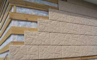 Бетонная фасадная плитка: виды, изготовление, укладка