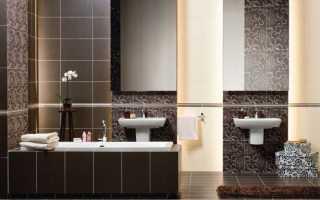 Как выбрать плитку для ванной и туалета: фото и советы
