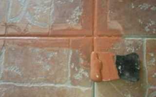 Как замазать швы между плиткой и чем?