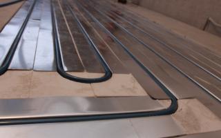 Водяной теплый пол под плитку: как правильно уложить?
