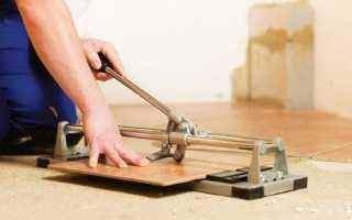 Как резать плитку напольную и чем