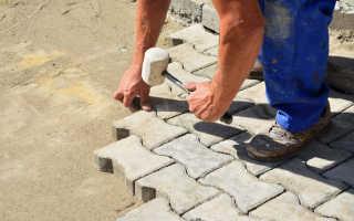 Подготовка основания под тротуарную плитку: этапы