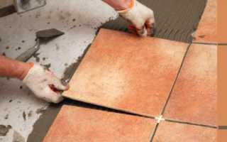 Подготовка пола к укладке плитки — практика!