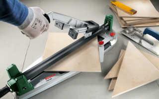 Как выбрать плиткорез: ручной и электрический