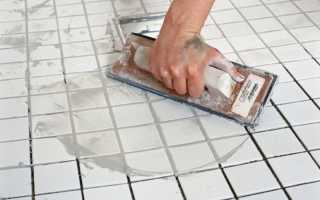 Расшивка швов плитки: инструменты и технология работ