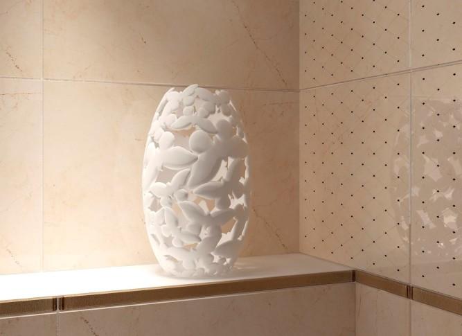 Керамическая плитка предназначена для щадящих условияй эксплуатации