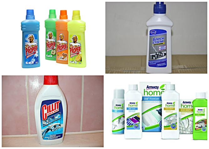 Специализированные чистящие средства