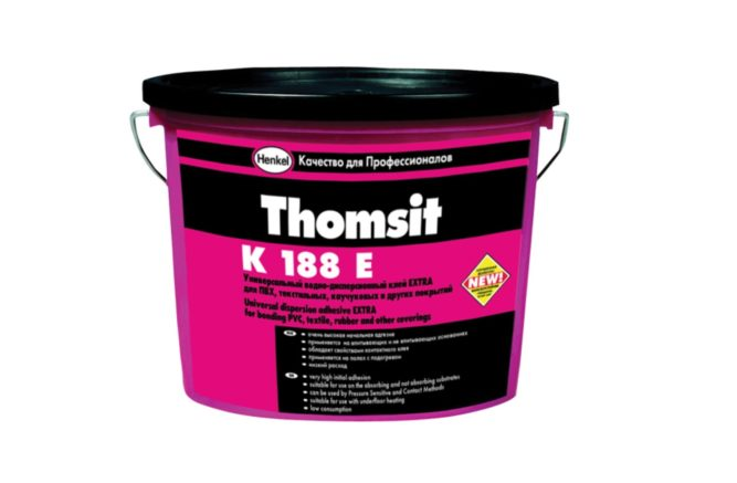Клей для линолеума водно-дисперсионный Thomsit R188E